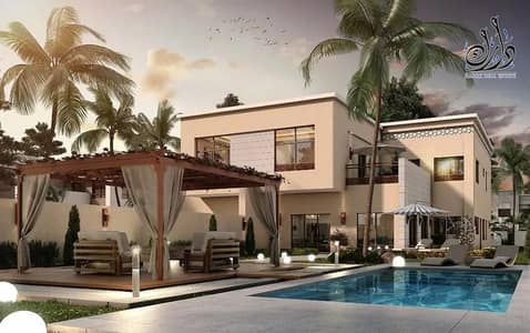 Villa for sale with simple down payment and received immediately / in installments of 5 years with the developer