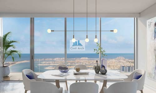 2 Bedroom Apartment for Sale in Dubai Harbour, Dubai - 2BR STELLAR APARTMEN T+3 YEARS PAY+50%DLD