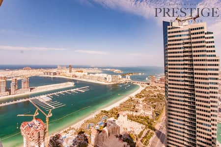 3 Bedroom Apartment for Rent in Dubai Marina, Dubai - Beautiful Large Sea View 3 Bedroom +Maid 2 Parking