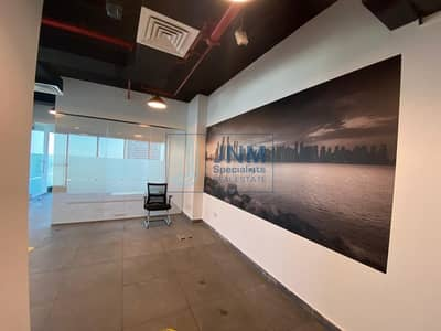 Office for Sale in Jumeirah Lake Towers (JLT), Dubai - Fitted and Partitioned Office JBC 1 | High Floor