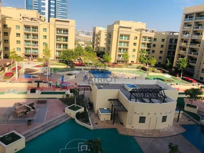 2 Bedroom Flat for Rent in The Greens, Dubai - Spacious l 2 Bedroom plus Study l Pool View l Ready to Move in