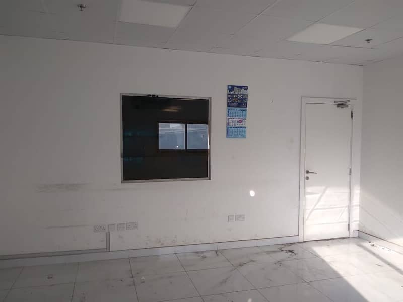 Al Qusaise Ind. 5040SqFt Warehouse insulated built in office & toilet