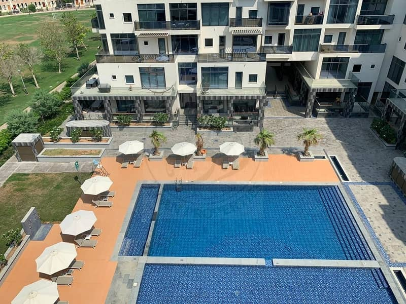 Amazing 1BHK Pool View in OIA Residence