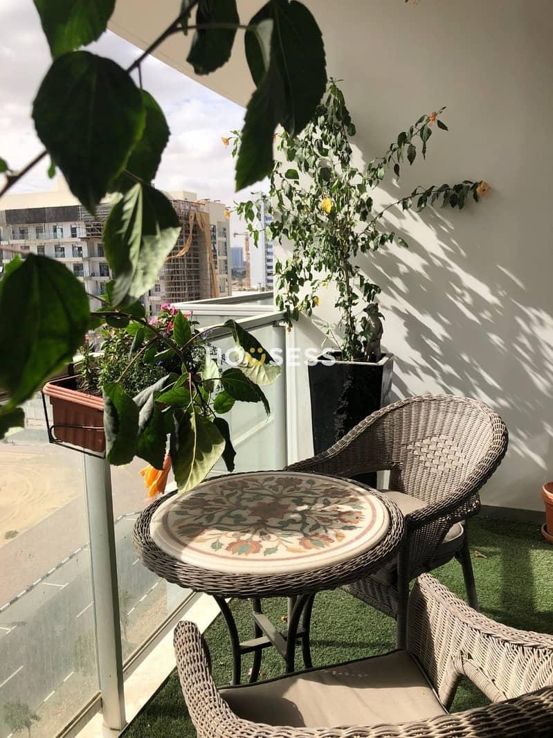 18 High floor | Spacious 1 bedroom duplex apartment