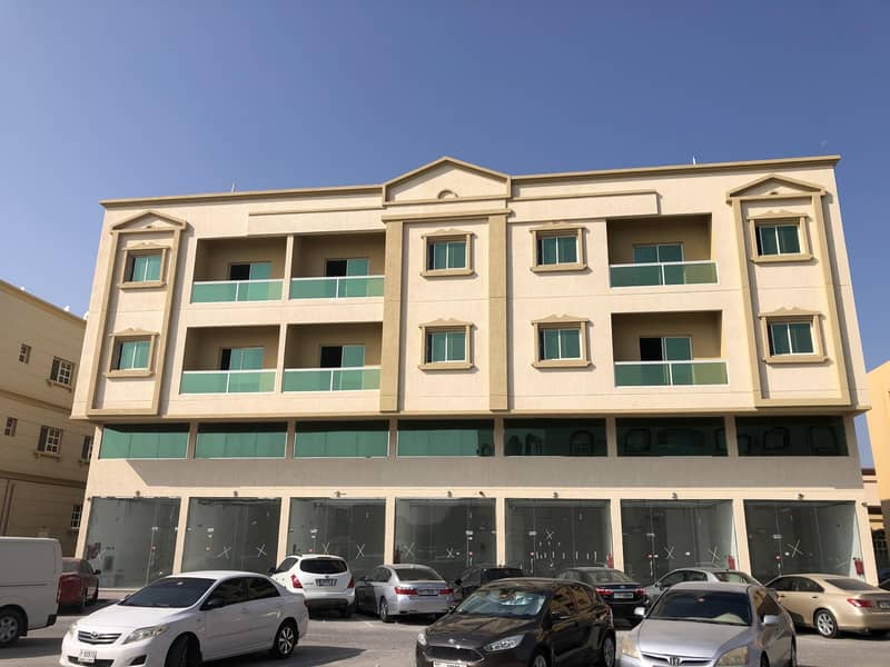 i have 1 bedroom hall  new building 1 month fre e in al zahra ajman