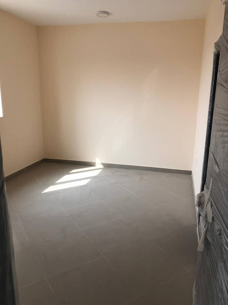 2 i have 1 bedroom hall  new building 1 month fre e in al zahra ajman