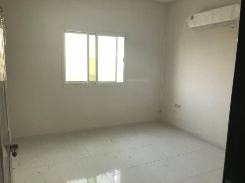 12 i have 1 bedroom hall  new building 1 month fre e in al zahra ajman