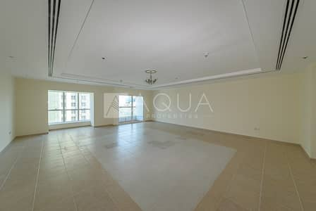 3 Bedroom Apartment for Rent in Dubai Marina, Dubai - Spacious unit | Sea view | High Floor | Vacant