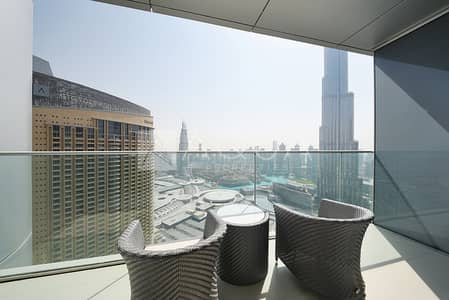 2 Bedroom Apartment for Rent in Downtown Dubai, Dubai - Luxury furnishing | All inclusive | Amazing views