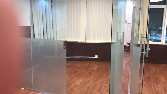 Office for Rent in Ajman Downtown, Ajman - Biggest size furnished office  for rent in Horizon Tower D