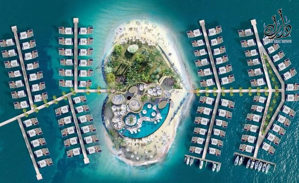 2 FLOATING SEAHORSE VILLA with flexible PAYMENT PLAN