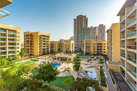 2 Bedroom Flat for Rent in The Greens, Dubai - Huge two bed plus Study unfurnished city view