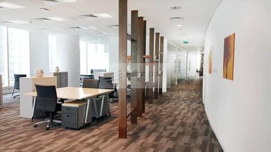مکتب  للايجار في الخليج التجاري، دبي - Full Floor    A Grade Tower  Sea View Next to DIFC