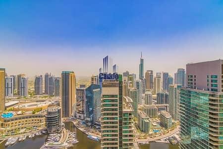 2 Bedroom Flat for Sale in Jumeirah Beach Residence (JBR), Dubai - Amazing Marina view | High floor | 2 BR in Bahar