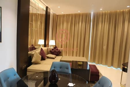Furnished 1BHK On Higher Floor - DownTown  Community- Best Layout