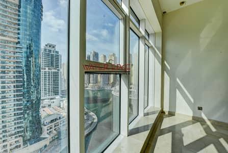 2 Bedroom Flat for Rent in Dubai Marina, Dubai - Huge 2BR | Huge Balcony | Partial marina View