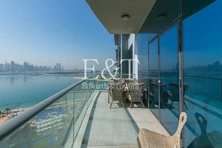 شقة 1 غرفة نوم للايجار في نخلة جميرا، دبي - High floor | Sea Skyline Views | 1 Bed | PJ