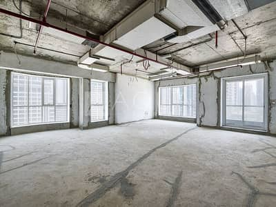 Office for Rent in Jumeirah Lake Towers (JLT), Dubai - Low Floor | New Shell and Core | Lake View