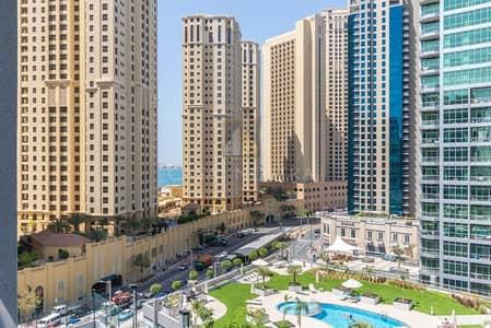 فلیٹ 2 غرفة نوم للايجار في دبي مارينا، دبي - Partial Sea View  Spacious 1BR Middle Floor