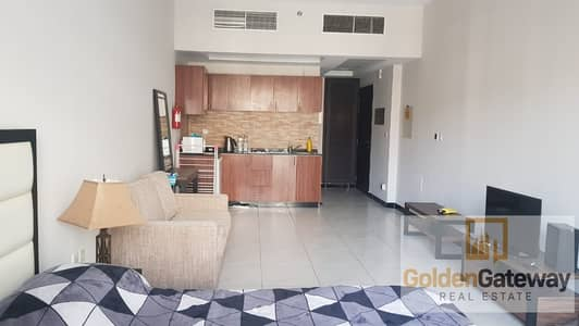 Studio for Rent in Jumeirah Village Circle (JVC), Dubai - Furnished Studio   Pool View With balcony