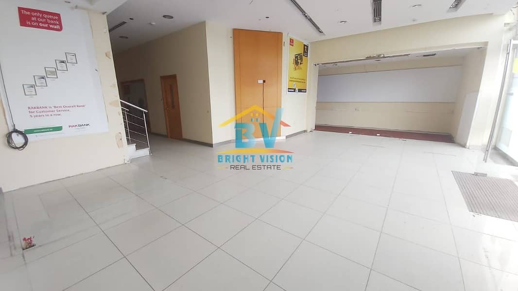15 Double Floor Full Sea View Commercial Showroom in Corniche area