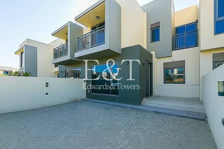 3 Bedroom Townhouse for Sale in Dubai Hills Estate, Dubai - On Green Patch 2M Single Row | 3 Bed + Maids | DH