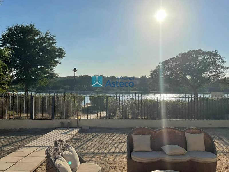 16 5BR+Maids | Lake View | Newly Renovated Garden