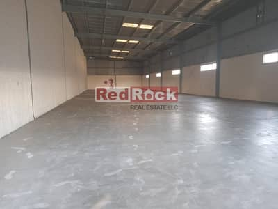 Warehouse for Rent in Al Quoz, Dubai - Independent 16600 Sqf with 227 Kw Power in Al Quoz