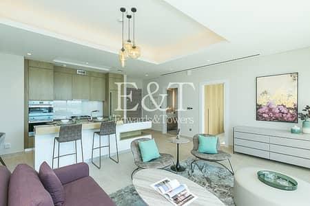 شقة 1 غرفة نوم للبيع في نخلة جميرا، دبي - Sea And Skyline View | Corner Unit | PJ