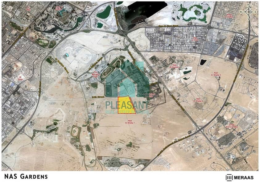 2 Best Offer | Best Location | Best Price | Plot in Nad Al Sheba | VIP