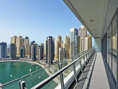 3 Bedroom Apartment for Sale in Dubai Marina, Dubai - Premium Tower |Full Marina | High Floor