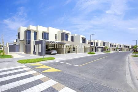 4 Bedroom Townhouse for Sale in Dubai Hills Estate, Dubai - Single Row | Maple 1 | Type 2E | End Unit