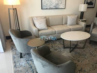 شقة فندقية 1 غرفة نوم للايجار في وسط مدينة دبي، دبي - All Inclusive | Full Burj Khalifa View |No Balcony