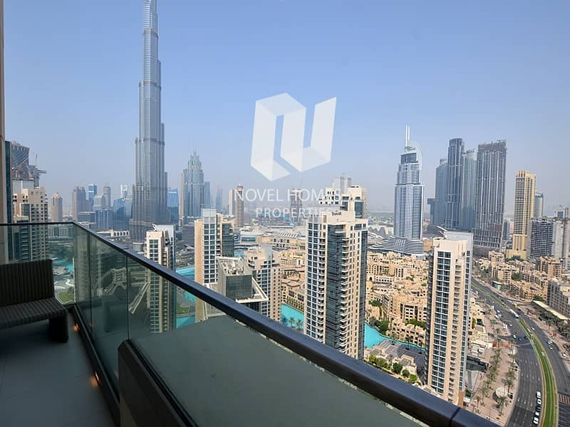 2 Vida Downtown I 3+Maid I Burj View  4.5M