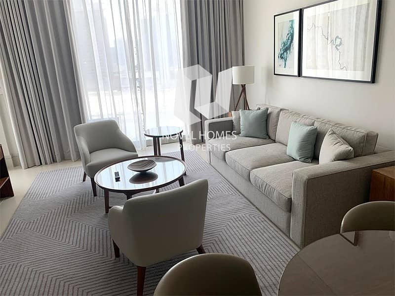 2 Fully Furnished 1 Bedroom / Brand New