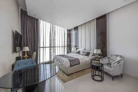 Studio for Rent in Downtown Dubai, Dubai - Furnished Studio | Last floor open view