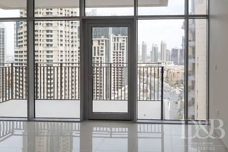 1 Bedroom Flat for Rent in Downtown Dubai, Dubai - Modern FInish | 1 BR plus Study | Bright