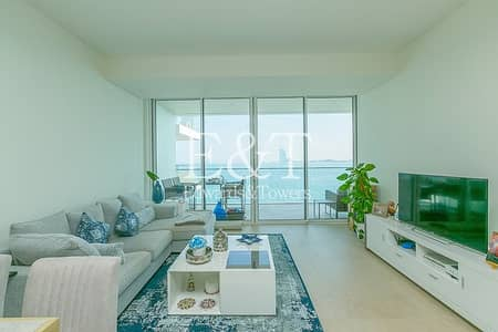 2 Bedroom Apartment for Sale in Palm Jumeirah, Dubai - Uninterrupted Sea And Burj View | High Floor | PJ