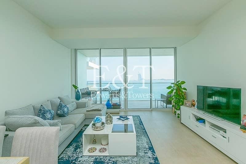 2 Uninterrupted Sea And Burj View | High Floor | PJ
