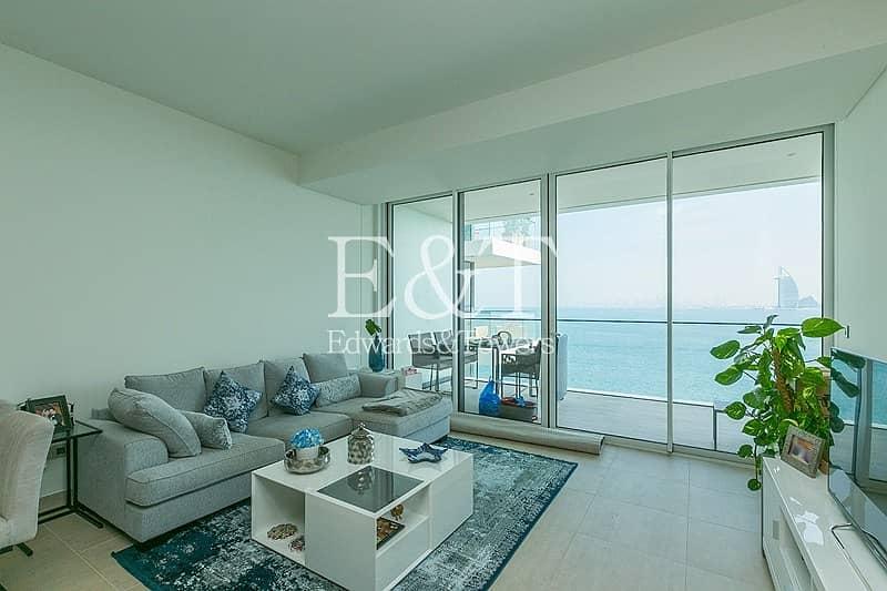 20 Uninterrupted Sea And Burj View | High Floor | PJ