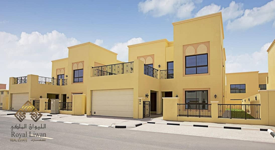 2 Special Offer 4 B/R  Brand New Villa In Nad Al Sheba Ready To Move In