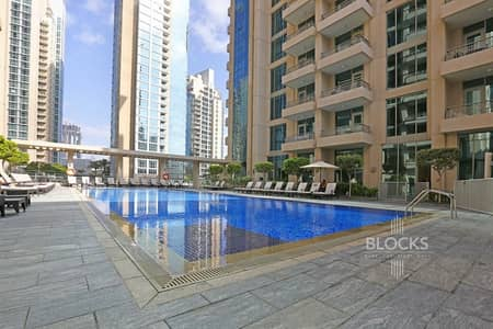 2 Bedroom Apartment for Rent in Downtown Dubai, Dubai - 2BR Apartment | Spacious and with balcony