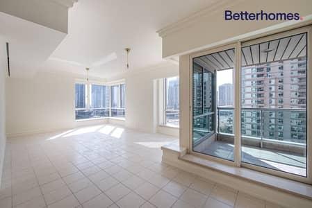 فلیٹ 4 غرف نوم للايجار في دبي مارينا، دبي - Marina view | Unfurnished | 2900 sq.ft | Vacant
