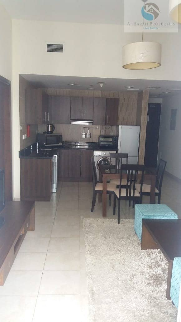 Fully Furnished 1 BR With Golf and Pool View
