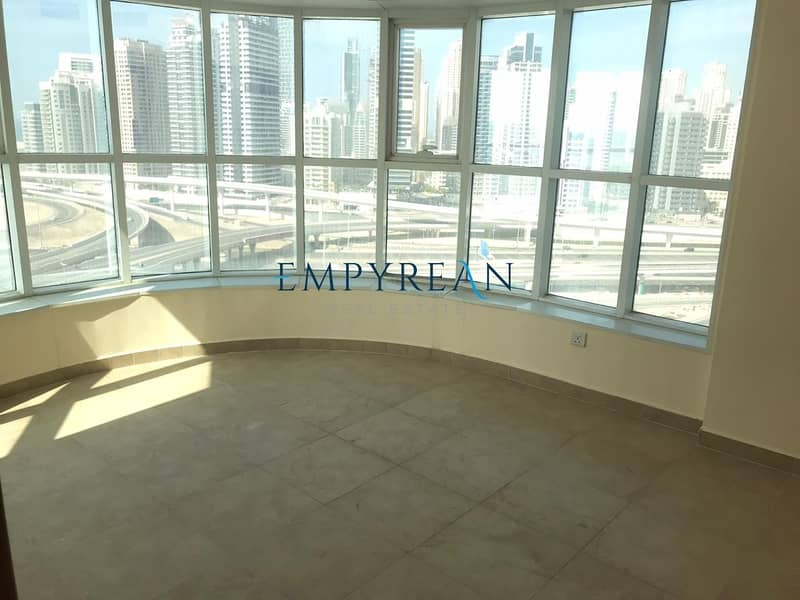 BEST PRICED|ONE BR||SEA AND MARINA VIEW|WITH BALCONY|