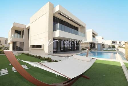 5 Bedroom Villa for Sale in Saadiyat Island, Abu Dhabi - A Huge and Modern Family Home with Rent Refund