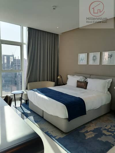 1 Bedroom Hotel Apartment for Rent in Business Bay, Dubai - one bedroom