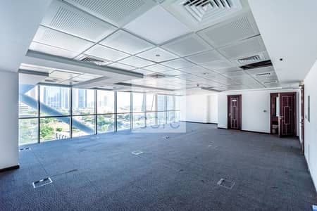 Office for Rent in Jumeirah Lake Towers (JLT), Dubai - Low Floor | Fitted Office | Close to Metro