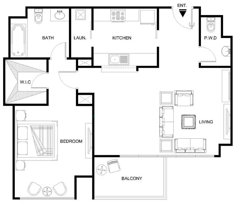 20 High Floor   Unbeatable Location   Spacious