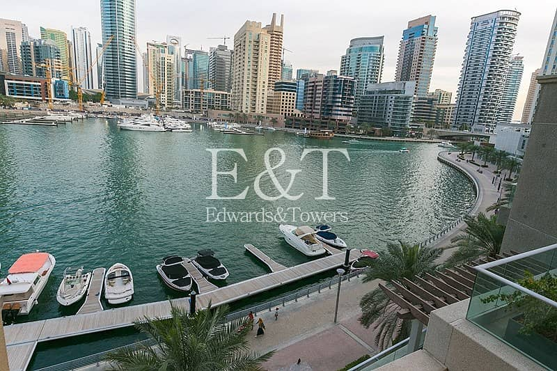 Fully Upgraded | Full Marina View | Furnished